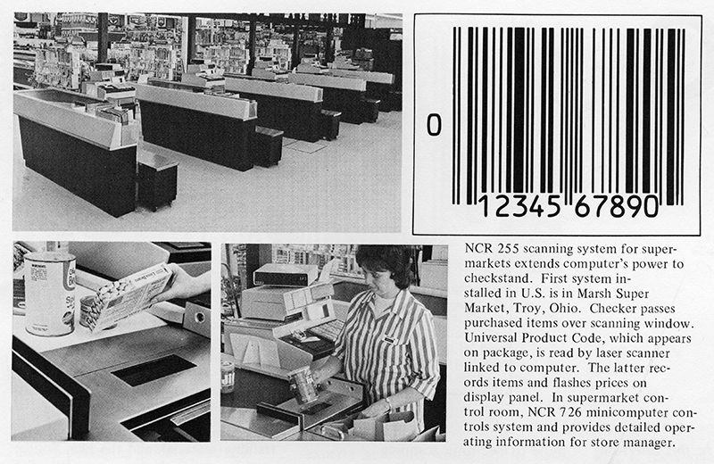 History of the invention of barcodes