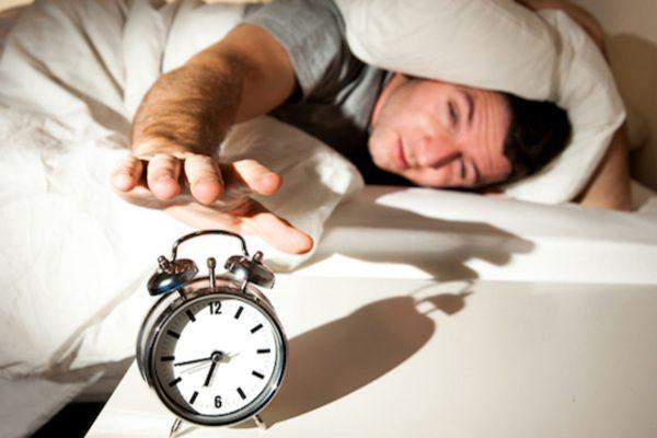 Snooze the alarm clock