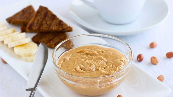 How to safely eat peanut butter ?