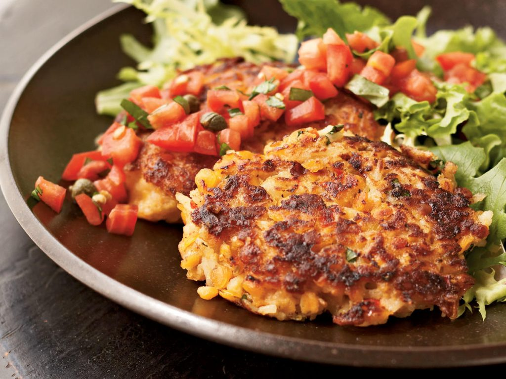 Vegetarian food a good helper for heart patients.